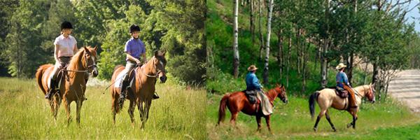 trail-riding